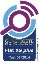 Testsieger: güntigste Allnet Flat ohne Laufzeit