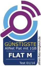 WINSIm im Test: güntigste Allnet Flat mit 1 GB Volumen